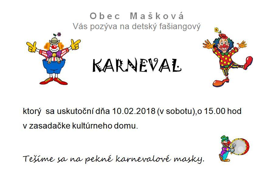 Detský fašiangový karneval